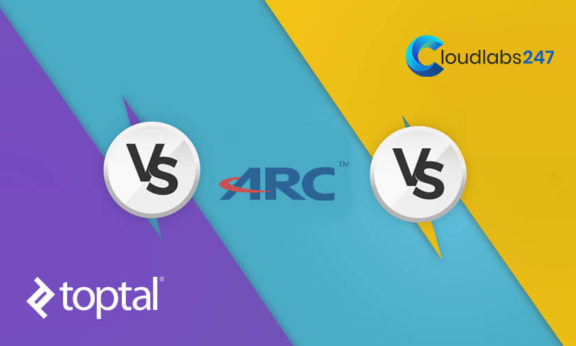 Toptal vs. Arc vs. Cloudlabs247